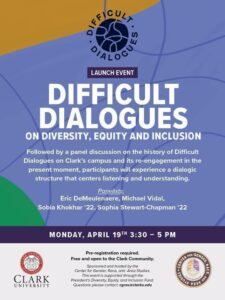 Difficult dialogues flyer