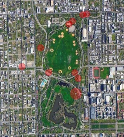 Soundswalks Map - Washington Park