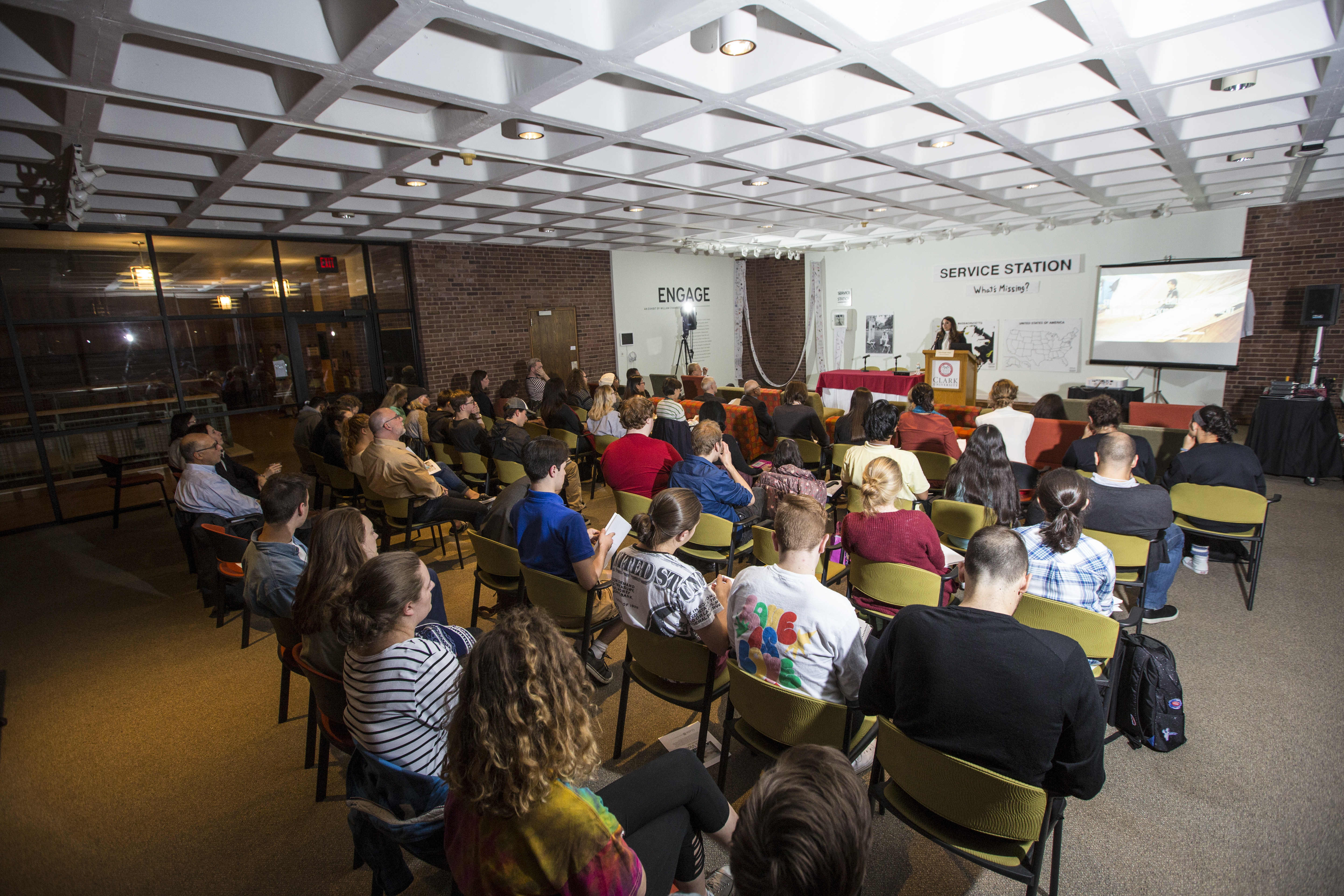 Audience - Children and Mass Violence Conference