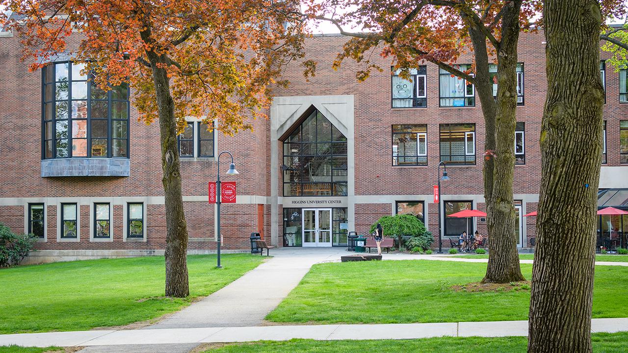 University Center front door