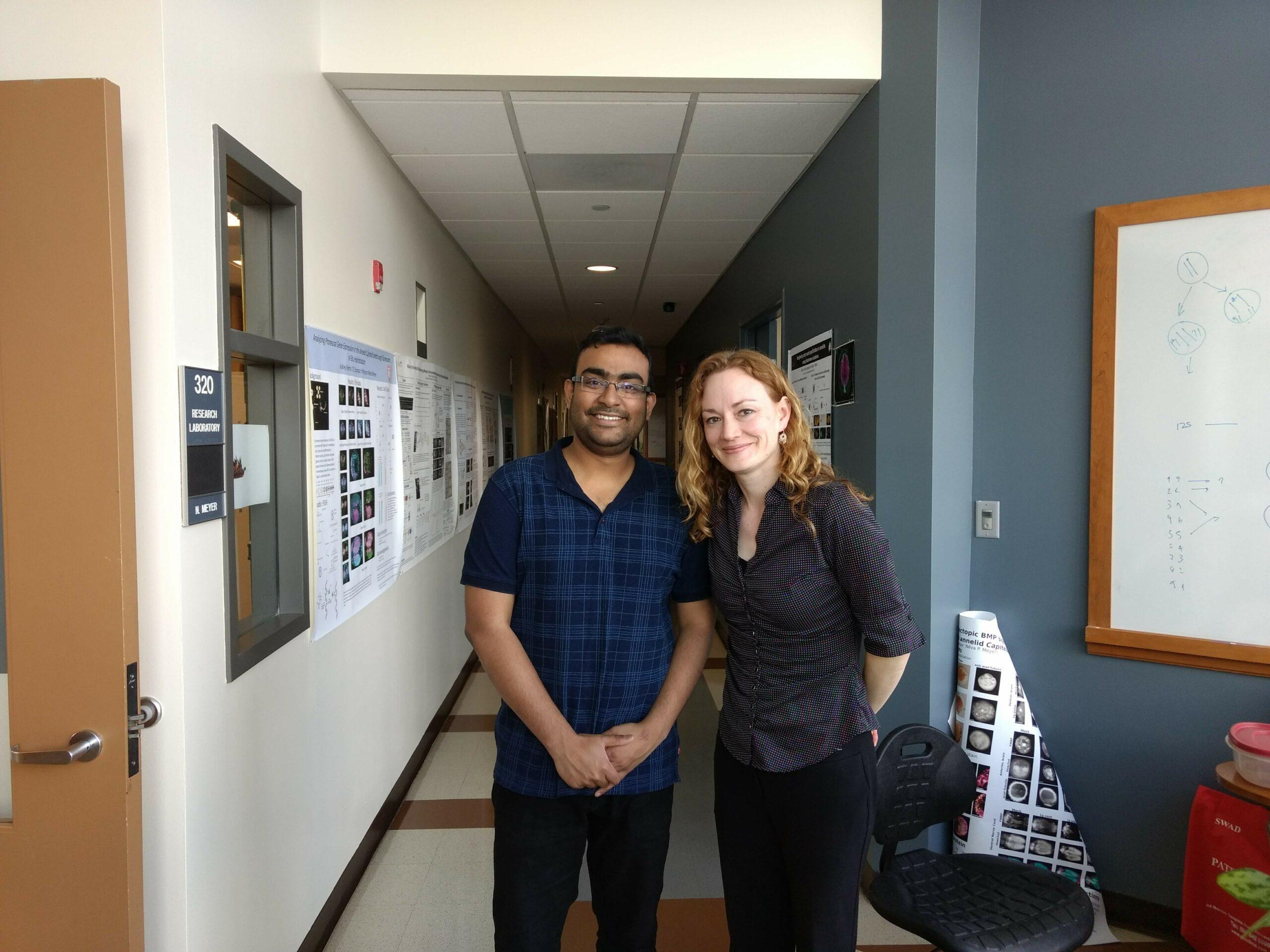 Dr. Abhinav Sur and Dr. Meyer