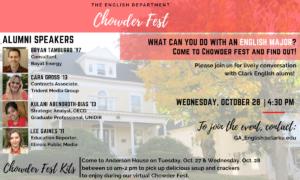 Chowder fest poster