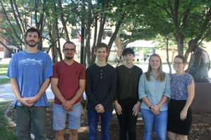 students in MS-GIS ADP cohort 2019-20