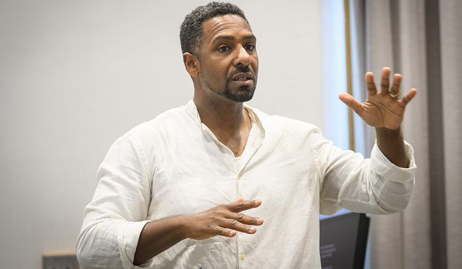 Ousmane Power-Greene teaching