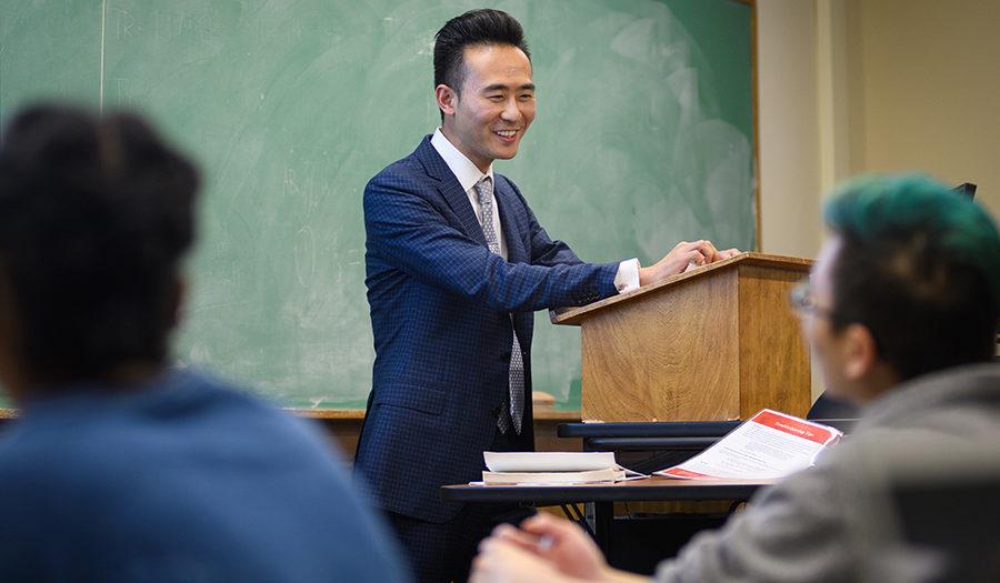 Lex Jing Lu teaching