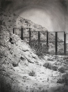 picture of a border wall