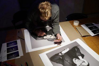 Studio Art, artist in residence Don Hartmann 11-20-19