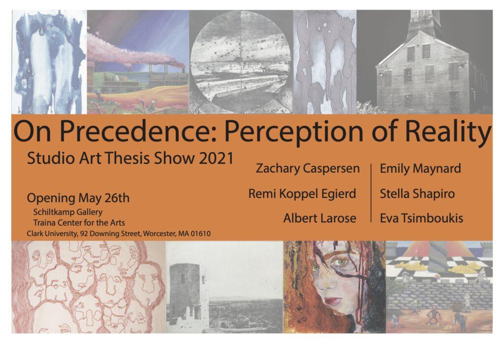 Senior thesis show poster