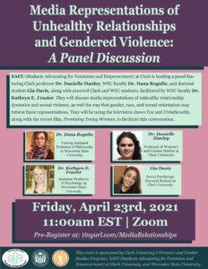 SAFE Gendered Violence Event
