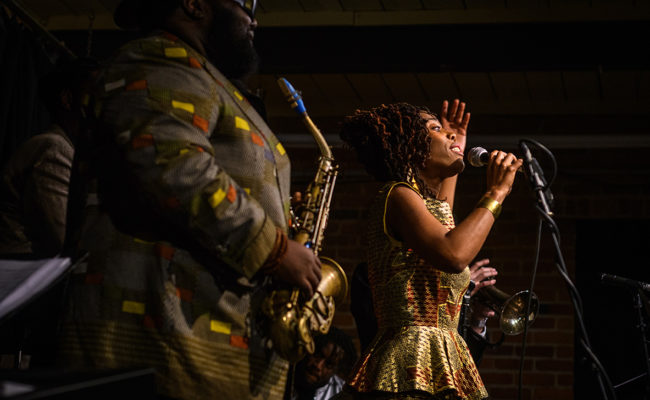 Haitian Jazz Project at Clark University, 2018