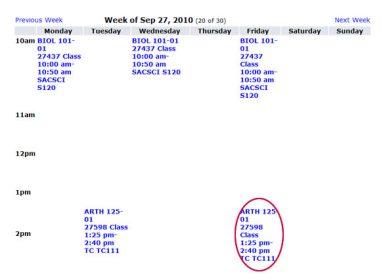 screen shot week of sept 27