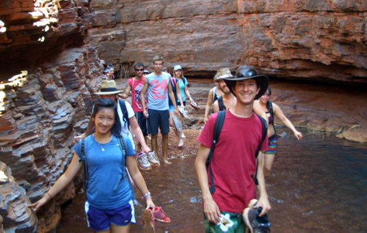 Study Abroad Students in Perth