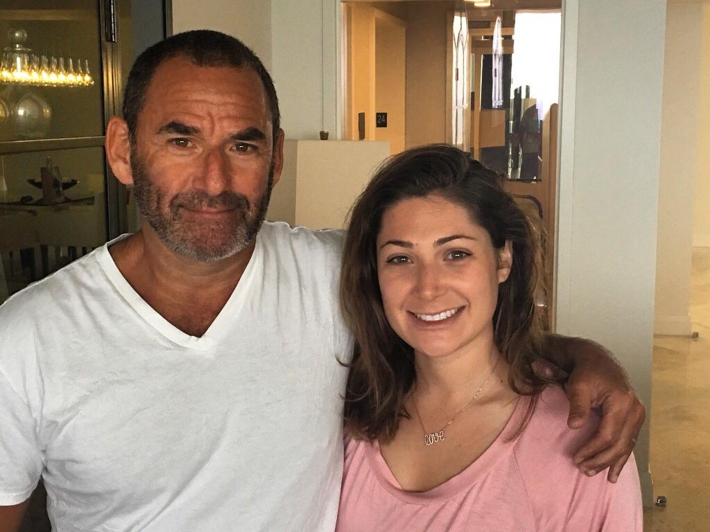 Samantha Goodman and father, Michael