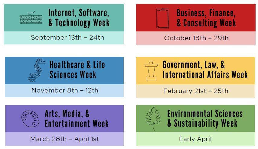 Career exploration weeks