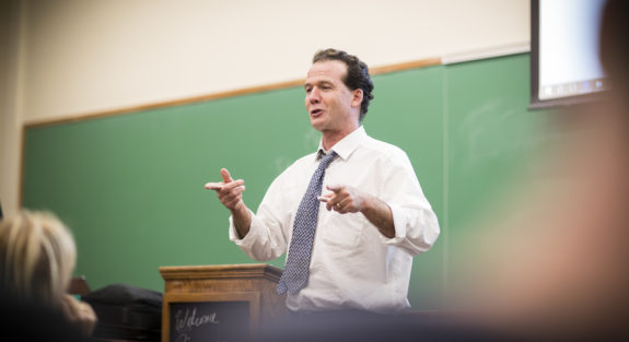 Joe O'Brien teaching class