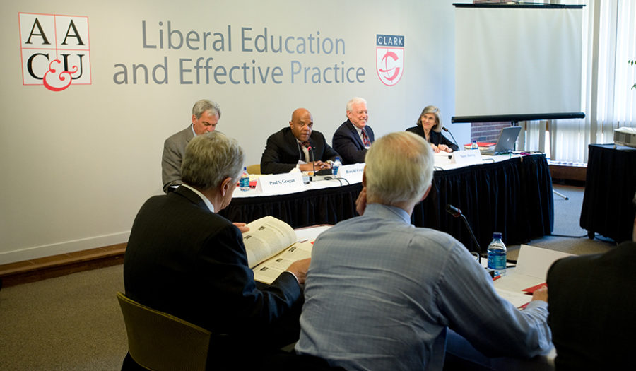 Liberal Education and Effective Practice conference participants at Clark Universiy 2009