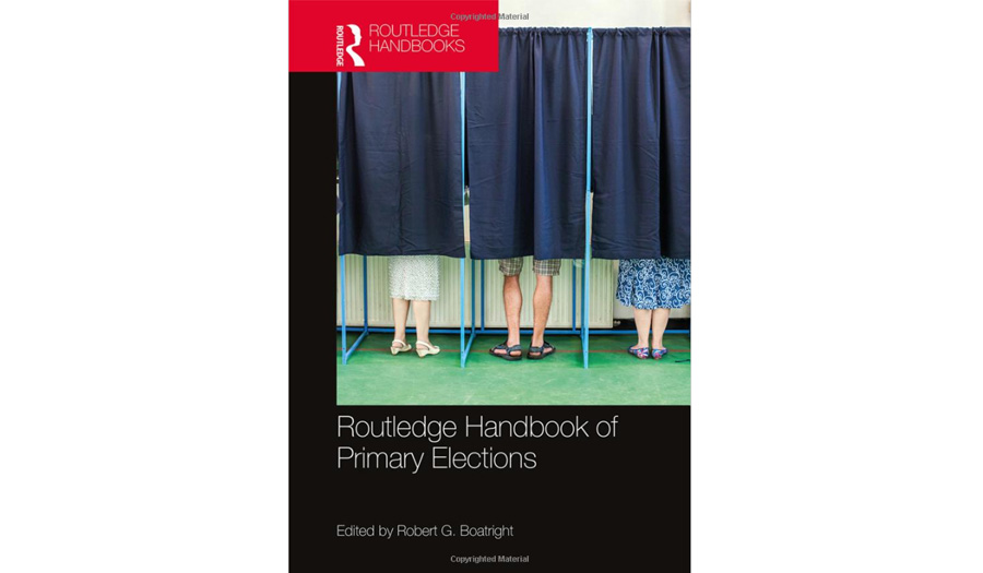 Rouledge handbook of Primary elections book cover