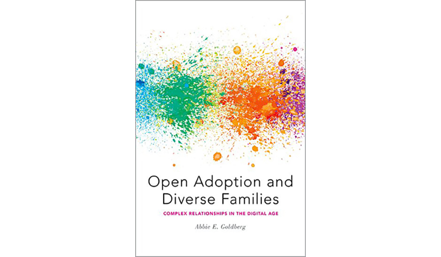 Open Adoption and diverse families book cov